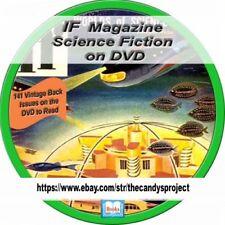 IF Comic Magazine Science Fiction Pulp Galaxy Alien Space Hugo Awards PDF DVD