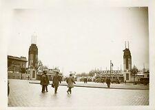"""""""L'entrée de la FOIRE de PARIS (Mai 1931)"""" Photo originale G. DEVRED (Agce ROL)"""
