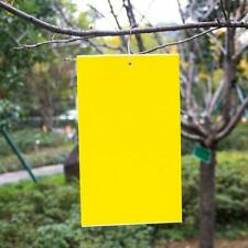 Dual-Sided Yellow Sticky Traps for Fungus Gnat Whitefly Aphid Leaf Miner 20 Pack