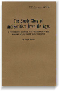 Bloody Story of Anti-Semitism Down the Ages by Joseph McCabe (Haldeman-Julius)