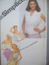 Simplicity Pattern 9971 Pullover Camisoles & Jackets Size 12 Uncut/Factory Fold