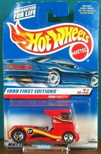 1999 First Editions Semi-Fast - #8 of 26 Hot Wheels #914
