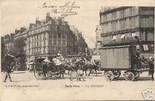 France CPA Paris Vécu Un Carrefour (f1985)