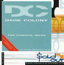 Dark Colony Conseil guerres add-on - PC (new & sealed)