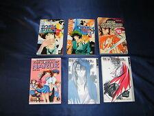 6 Divers Mangas Cowboy Bebopshin Angyo Onshi Peace Marque Narue