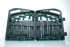 Mannesmann T - Handle Wrench Set 16 pcs Torx Ballpoint Hex Key Wrench Set GS TUV