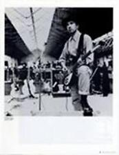 U2 The Edge in Dublin Rehearsal July 1988 Q Magazine Photo