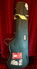 Levellers Autographed Guitar Case Mark Chadwick
