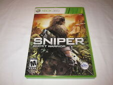 Sniper: Ghost Warrior (Microsoft Xbox 360) Original Release Complete Nr Mint!
