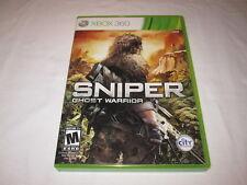 Sniper: Ghost Warrior (Microsoft Xbox 360) Original Release Complete Nr Mint!