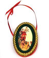 COCA-COLA EE.UU. Decoración de árbol navidad adornos - SANTA 1965 Ornamento
