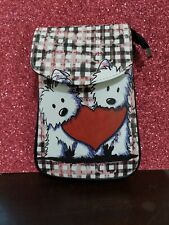 �� West Highland White Terrier Dog Westie Crossbody Purse Free Ship hurry only 2