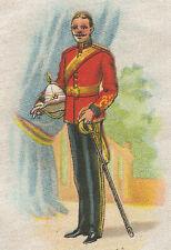 Vintage tobacco cigarette silk - use in crazy quilt -Canada Soldier #48 Calgary