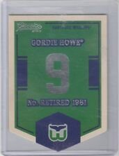 2012 13 Classics Retired Numbers #9 Gordie Howe New England Hartford Whalers