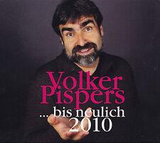 VOLKER PISPERS - 2 CD - ..BIS NEULICH 2010