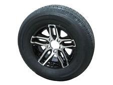 "ATB 205/75D15 LRC Eco-Trail Bias Trailer Tire on 15"" 5 Lug Aluminum Wheel"