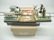 FEM Ferrovie Elettriche in Miniatura N° 36L  2 x Bahnübergänge, Blech, OVP