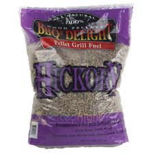 BBQR's Delight Hickory Flavor BBQ Wood Pellets Grill Fuel 20 Lb Bag All Natural