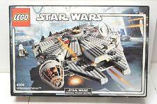 LEGO Star Wars Millennium Falcon #4504 Imperial Shuttle #7264 Snowspeeder #4500