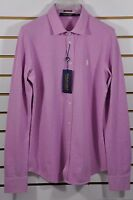 NWT Women's Ralph Lauren Golf, Stretch Knit Cotton OXFORD Shirt. Size M. $125
