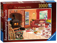 THE AFTERNOON VISITOR 1000 PIECE JIGSAW PUZZLE RAVENSBURGER