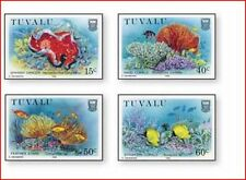 TUV8804  Fish and coral reefs 4 pcs