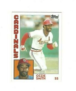 1984 Topps OZZIE SMITH #130 St. Louis Cardinals VG