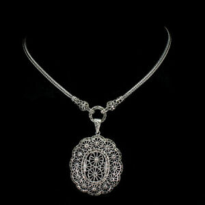 Unheated Round Marcasite Champagne Natural 1.5mm 925 Sterling Silver Necklace
