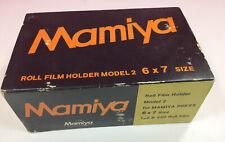Mamiya Model 2 6x7 Roll Film Adapter Back Holder
