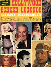 Hollywood Screen Legends, Collector's Edition, 5 magazines in 5, 1965.