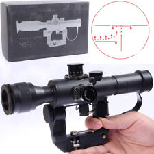 UFC Russian POSP 4x26 SVD AK Red Illuminated Sniper Scope (Airsoft) Marui G&P
