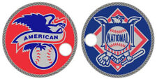 Only 50 Sets Made! American & National League Logos Pathtag Coin MLB Series