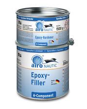 AIRO Nautic Universal Epoxy Epoxid Spachtel 2:1 hellgrau 4,5 kg oder 3 Liter
