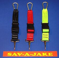 Firefighter Neverlost Flashlight Keeper Sav-A-Jake - Neon Yellow
