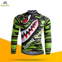 Men's Mtb Cycling Jerseys Long Sleeve Bike Clothing Team Pro Bicycle Jersey Top
