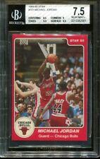 1984 STAR #101 MICHAEL JORDAN TRUE RC BULLS BGS 7.5