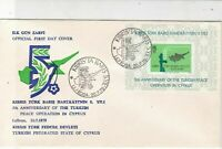 Turkish Federated Cyprus 1979 5th Ann.Peace OP. In Cyprus FDC Stamps Cover 23584