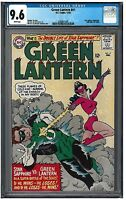 GREEN LANTERN #41 CGC 9.6 (12/65) DC white pages