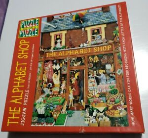 Puzzle Within A Puzzle The Alphabet Shop Great American Puzzle Factory Complete
