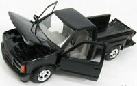 GMC SIERRA GT PICK UP 1992 1:24 Scale Diecast Toy Car Model Die Cast Truck Black
