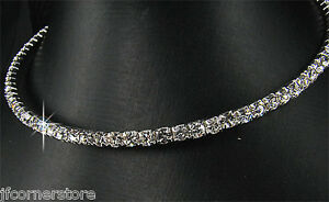 BRIDAL/WEDDING  Crystal/Diamonte Necklace Set *128**Austrian Crystal