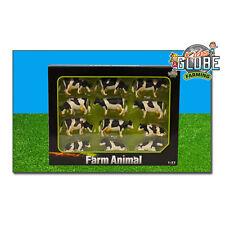 Van Manen Kids Spielzeug Globe Kuh M1:32 schwarz weiß liegend/stehend 12 Stk.