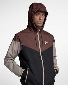 Men's Nike Sportswear Windrunner Jacket -Red Sepia -Size S -727324 236 <New>