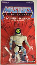 Super 7 Masters of the Universe MOTU He-Man Possessed Skeletor MOC 100% Complete