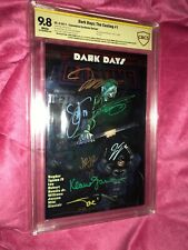 Dark Days : The Casting 1 Con Exclusive Foil 8X's Signed! 1st Cameo Dark Knights