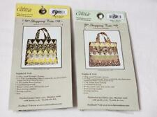 Fabric Central Shopping Tote Triangle Charms Quilt 120 Each Cut Piece 2 New #3
