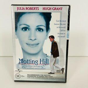 Notting Hill (DVD, 1999) Julia Roberts New & Sealed Region 4 Free Postage