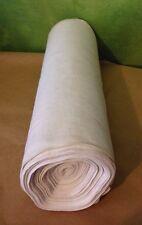 Rotolo Stoffa Lino tessuta a telaio primi '900 oltre 10 metri
