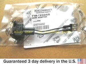 JCB BACKHOE - GENUINE JCB LEAD ADAPTER ESOS / HARN ADAPTOR (PART NO. 718/20055)