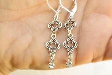 New Altered Brighton Toledo Charm Dangle Clear Crystal On Lever Back Earring